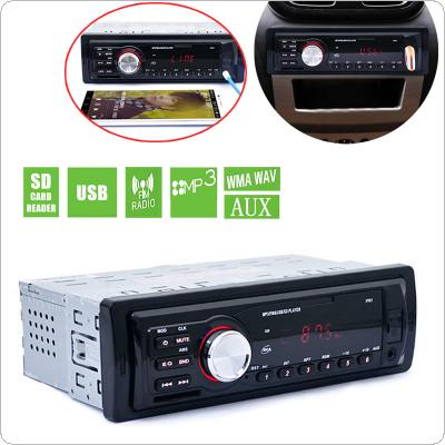 5983 1 DIN In-Dash Car Stereo Audio FM Aux Input Receiver SD USB MP3 WMA Radio Player