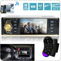 4019B 12V 4.1 Inch HD 1080P Bluetooth Stereo MP3 / MP4 Radio FM MP5 Video Player Support AUX Input