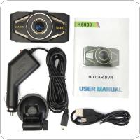 2.4 Inch 720P Car DVR Camera Video Recorder Dash HDMI 120 Degree Wide Angle Lens