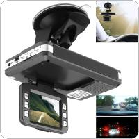 3 in 1 720P Car DVR Radar Dash Cam Laser Video Speed Detector / GPS Car Camera Video Record Detector