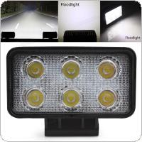 4.3 Inch DC 10V-30V 1320LM 18W Waterproof LED Work Light for Motorcycle / Tractor / Boat / 4WD Offroad / SUV / ATV