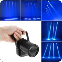 3W Blue LED Beam Spotlight Dance Party DJ Bar Spin Stage Light Pinspot Lights