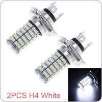 2x White HB2 3528 H4 9003 120-SMD High Low Beam LED Fog Light Headlight Lamp