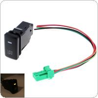 Car Accessory Fog Light LED Lamp On Off Locking Switch Fit for Toyota