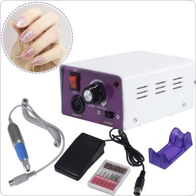 Electric Nail Drill Machine Manicure Accessories Pedicure Nail Pen Machine Kits Nail Tools