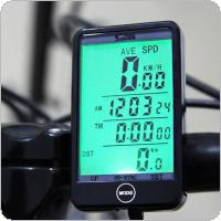 Bicycle Computer Odometer Waterproof Screen Wireless Bicycle Cycling Speedometer