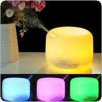 OriGlam 2.4Mhz Ultrasonic 500ML 9 LEDs 7 Colorful Light Changing Oil Aroma Diffuser with Adjustable Spraying Direction