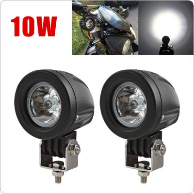 Ourbest 2pcs 10W Mini Tail Auto Led Offroad Lights Fog Lamp for Car / Motorcycle / Boat / ATV