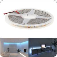 IP65 5M 5050 SMD LED Strip Light Waterproof Pure White 300 LED DC 12V