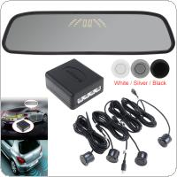 Multifunctional Car Premium Reversing and Parking Sensor System with Ultrasonic Sensors & LED Display