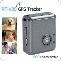 RF-V8S High Efficiency Remote Listening GPS Tracker & SOS Communicator