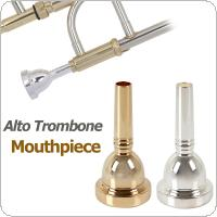 6.5AL Alto Trombone Mouthpiece Silver / Gold Optional