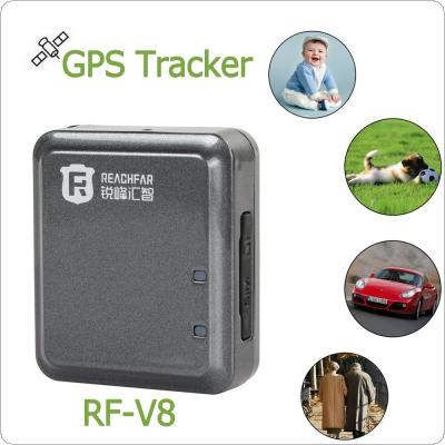 High Efficiency RF-V8 GPS Tracker & Alarm with Lanyard