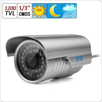 Jooan 480TVL CCTV Surveillance Home Security Waterproof Outdoor Day Night 36IR Camera Night Vision 3.6mm