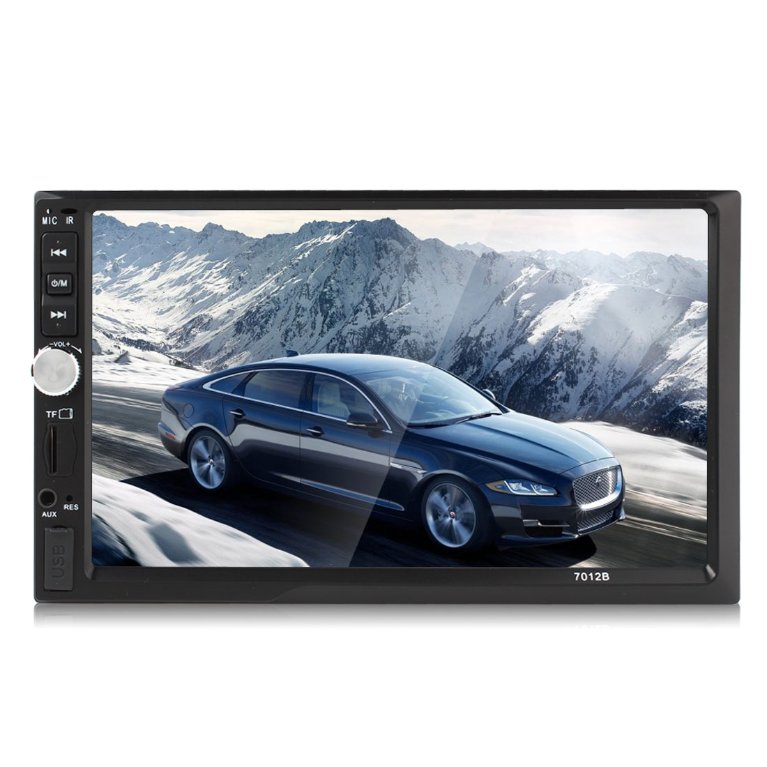 7012b 7 inch hd lcd 2 din bluetooth car stereo mp5 player video images show