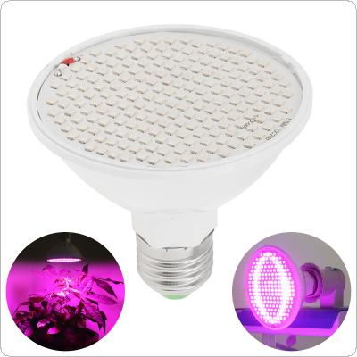 20W 200-LED Plant Grow Light E27 Red+Blue Hydroponic Flower Veg Growing Lamps