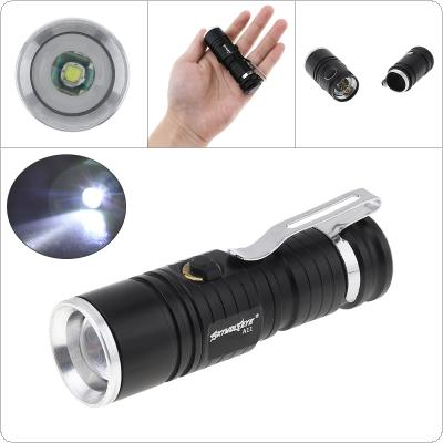 SKYWOLFEYE Focus CREE XML T6 LED CR123A 3 Modes 500LM Outdoor Zoomable Flashlight Rechargeable Camping Light
