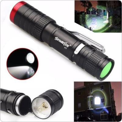 SKYWOLFEYE 500LM 3-Mode XPE LED 14500 Flashlight Zoomable Torch Lamp Light Outdoor