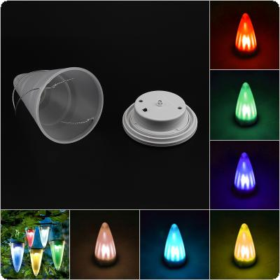 Solar Powered Tree Hanging Pathway Lawn LED Patio Lamp Light Sun Power