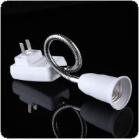 E27 Lamp Bulbs Adapter Converter Flexible Extension Holder On / Off Switch for Simple Table Lamp / Wall Spotlight / Desk Lamp