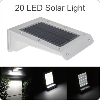 Waterproof 20 LED Solar Power Outdoor Security Light Lamp PIR Motion Sensor