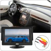4.3 Inch 480 x 272 2-Channel Input Car Rear View Monitor with Pocket-sized Color TFT LCD Display