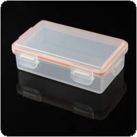 Soshine Portable Hard Plastic Case Holder Storage Box for 2x 18650 Battery