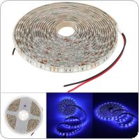 5M 5050 UV Ultraviolet LED Blacklight Waterproof Night Fishing Strip Lamp Lights