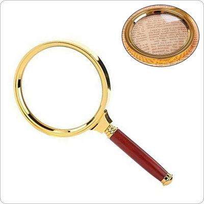 "90mm/3.6"" Handheld 5X Magnifier Magnifying Glass Loupe Reading Jewelry"