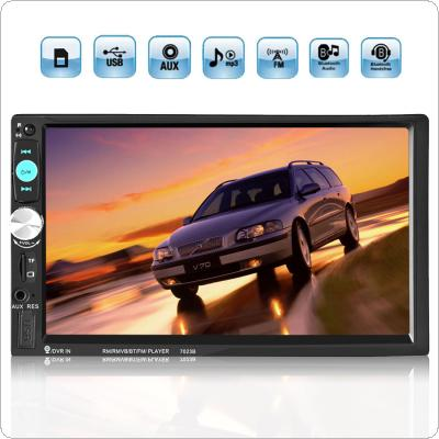 7inch Touch Screen 2din Car Radio Stereo Bluetooth / AUX / SD / FM / USB MP5 Player