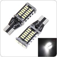 2 x T15 W16W CREE 4014 30SMD LED Strong Bright Car Turn Singal Brake Stop Light 1200LM High Power