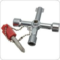 Utility Plumbing Plumbers Key Tool For Meter Box Gas Water Electric Service Tool Stop Cock Tap Radiators Cupboards Key