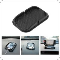 Universal Multi Functional Car Anti Slip Pad Rubber Mobile Sticky Stick Dashboard Phone Shelf Anti Slip Mat for GPS MP3