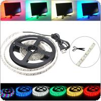 200CM 3528 120LED 9.6W USB LED Strip Light TV Background Lighting IP65 Kit 5V