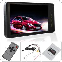9 Inch HD 800 x 480 Ultra Big LCD Widescreen Car Rearview Mirror Monitor with Touch Button