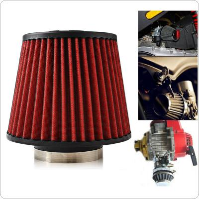 76mm/3inch 165mm/6.5inch Height Mushroom Head Shape Car High Flow Cone Cold Air Intake Filter Cleaner