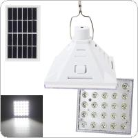 25LED Portable Solar Powered Outdoor Camping Yard Lamp Emergency Night Light