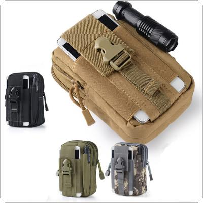 Outdoor Sport Molle Waist Pack Utility 5.5-6Inch Phone Pouch Multi-function Belt Bag
