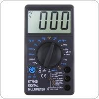 DT700D LCD Digital Multimeter DC AC Voltage Diode Frequency Multimeter