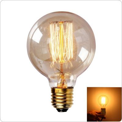 40W Big Promation G80 Incandescent Bulb E27 Globe Retro Edison Vintage Lamp Light 110V-220V