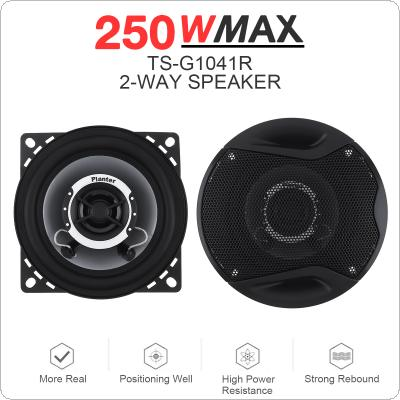 2Pcs 4Inch 10cm Dual-Cone Car Coaxial Speakers Tweeter 200W