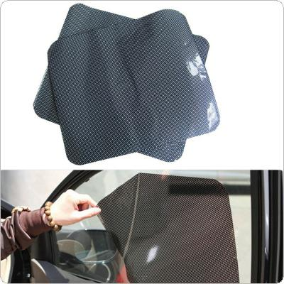 Car Auto Accessories Curtain Windshield Sticker Sun shade UV Protection Side Window Film 38cm x 42cm 2Pcs Per Set