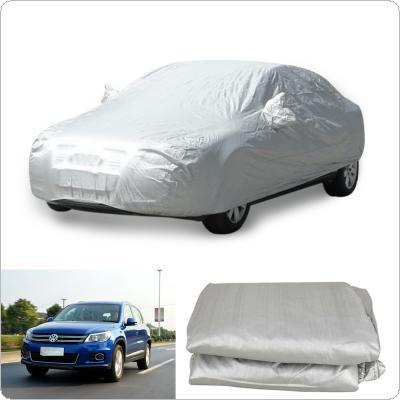 Durable Car Covers Sunproof Dust-proof Rain Resistant Protective Anti UV Scratch Sedan Cover 450 x 170cm
