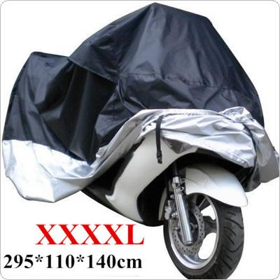 Waterproof Motorcycle Cover Sewing Clothing XXXXL 295 x 110 x 140cm