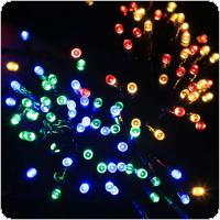 OriGlam 33ft 72 LEDs Waterproof Battery Operated Light String with 8 Functions & Auto Timer for Christmas / Party / Wedding