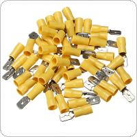 100pcs Assorted Electrical Wire Terminals Connectors Male + female Crimp Spade