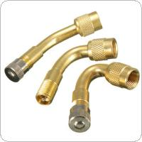 45/90/135 Degree Angle Brass Air Type Valve Extension Adaptor For Motorcycle Car Scooter