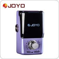 JOYO JF-322 Wow Wah Auto Wah Mini Electric Guitar Effect Pedal with Knob Guard True Bypass