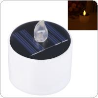 Electronic Solar Powered Plastic LED Lamp Night Light Candle Party Decor Romantic Gift Lamp
