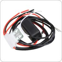 Car LED DRL Relay Daytime Running Harness Auto Controller On / Off Switch Parking Light